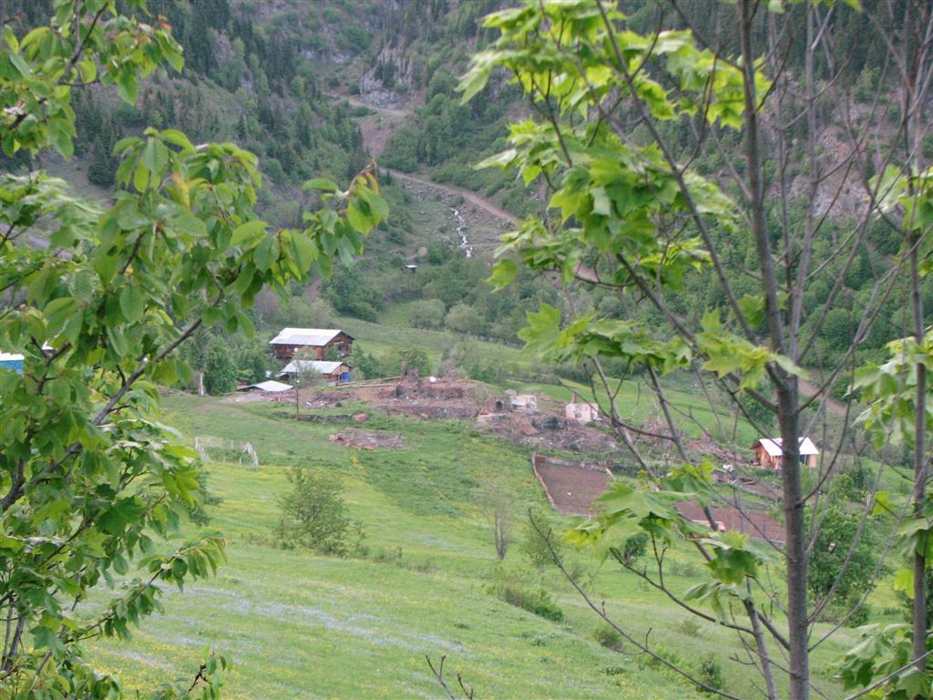 Yangın mağduru vatandaşlar köyü terketti
